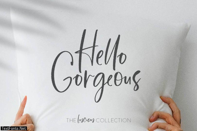 The Luscious Font Collection 4148635