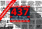 The Master Collection of Craft Designs Bundle