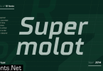 TT Supermolot Font Family