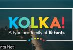 Kolka Font Family