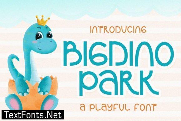 Bigdino Park Font