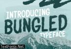 Bungled Font