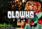 Clowns Font