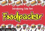 Foodpacker Font