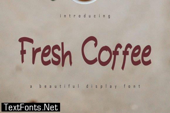 Fresh Coffee Font