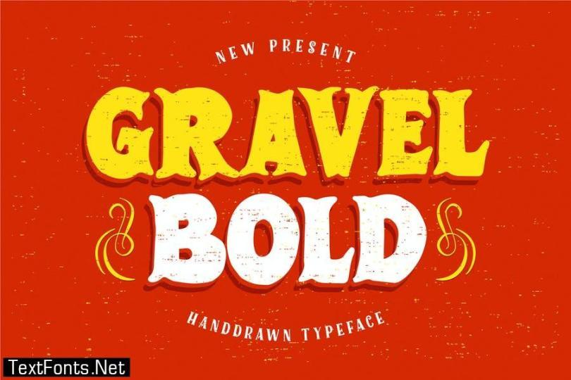 GravelBold Typeface Font
