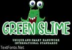 Green Slime Font