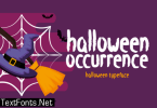 Halloween Occurrence Font