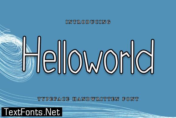 Helloworld Font