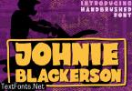 Johnie Blackerson Font