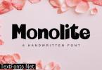 Monolite Font