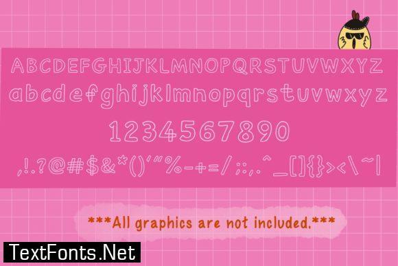 Outliner Font