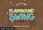 Playground Swing Font