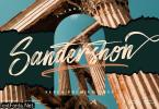 Sandershon Brush Script LS