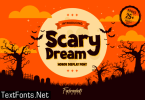 Scary Dream Font