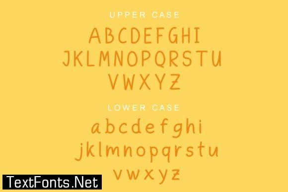 Title Hemilia Font
