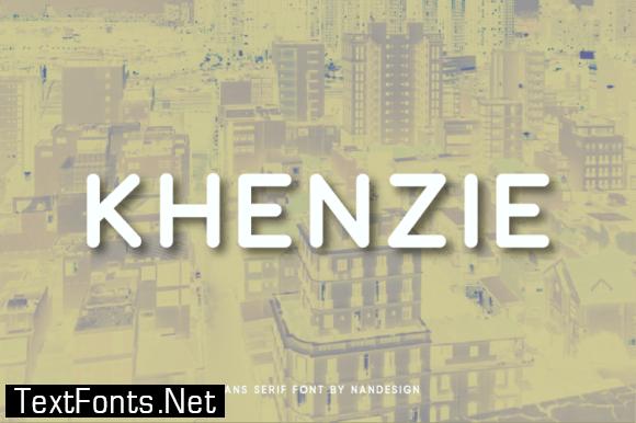 Title Khenzie Font