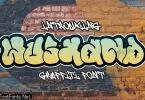 Wushand - Graffiti Thick Font