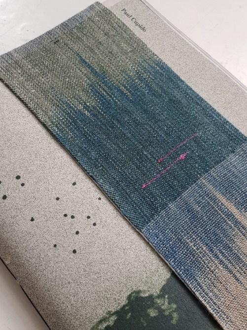 linen fibers / linen weaving