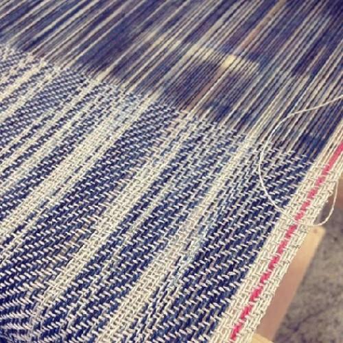 Saori / ikat weaving