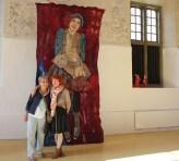 Annie van de Galerie kwam ook kijken