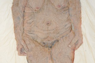 detail 'Oude Vrouw'