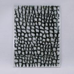 Textielverf en meer stempel 7x10cm kleilaag