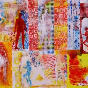 Textielverf en meer - Workshop gelli plate printen