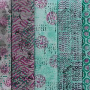 Textielverf en meer Workshop Stoffenserie verven