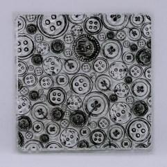Textielverf en meer stempel knopen