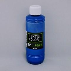 Textielverf en meer Textile Color Pearl blauw 250ml