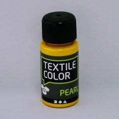 Textielverf en meer Textile Color Pearl geel 50ml