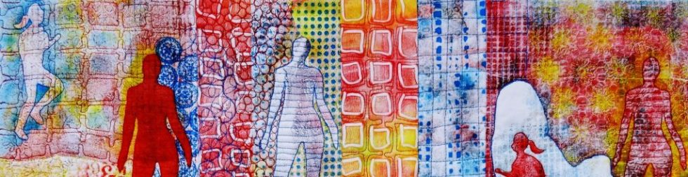 Textielverf en meer workshop gel printen