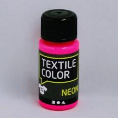 Textielverf en meer Textile Color Neon roze 50ml