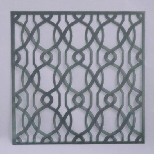 Textielverf en meer stencil 15x15cm art deco