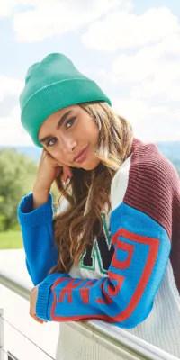 bonnet vert steetwear