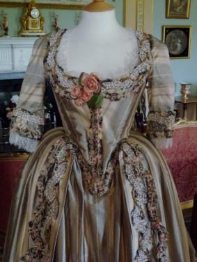 Georgiana Duchess Of Devonshire Bath Park Day Dress