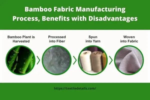 Bamboo Fabric Manufacturing Process