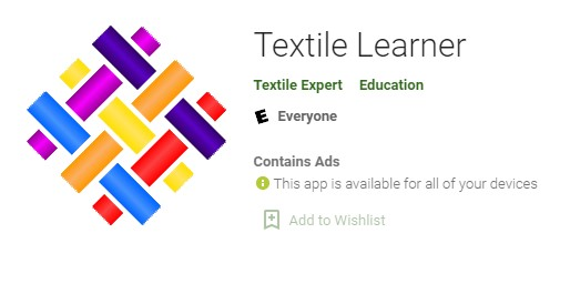 Best Textile Apps: Textile Learner