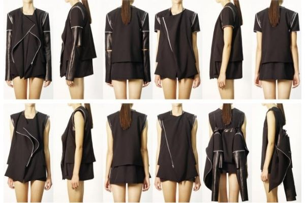 Convertible Cloth for Transformable Fashion