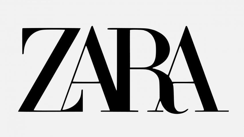 ZARA new logo redesign seems to be a trend on the rise