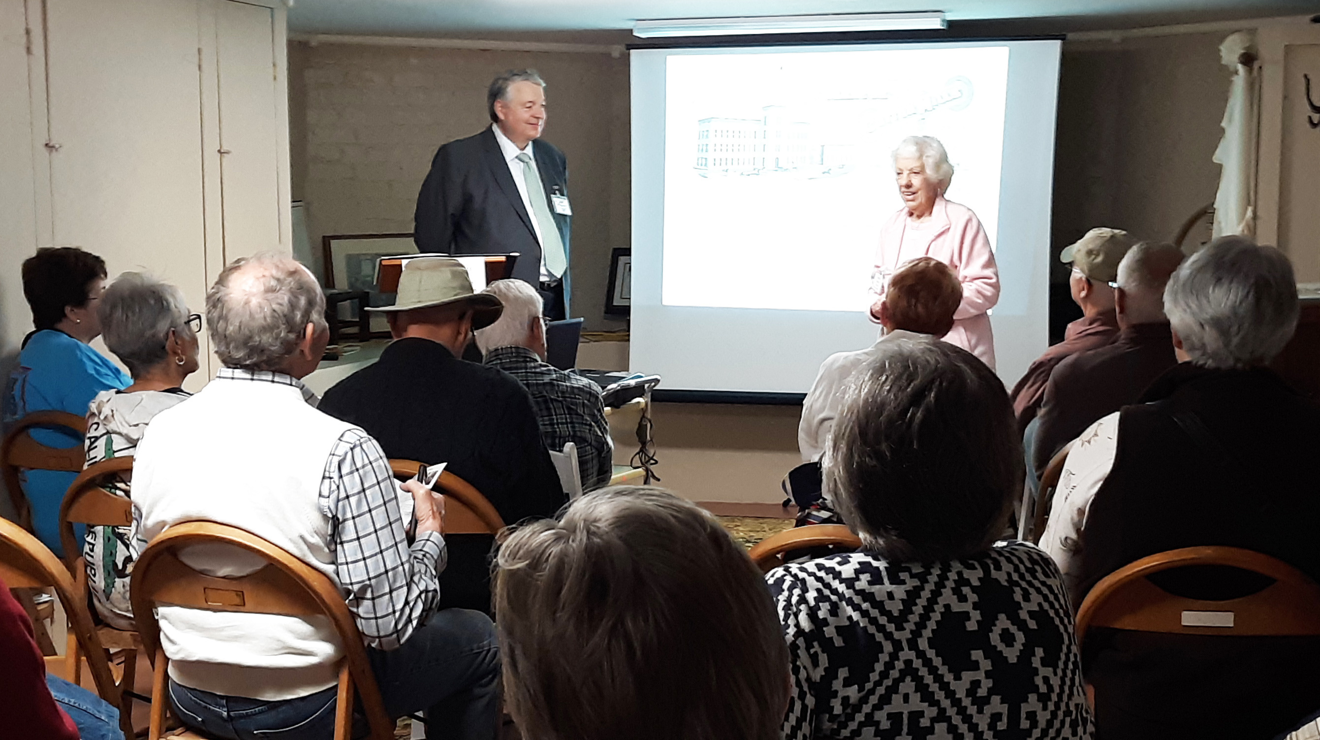 Sam Powell and Jerrie Nall Presenting-15th Anniversary