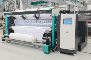 tricot warp knitting machine