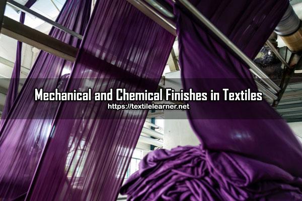 Textile Finishing Process
