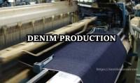 Process Flow Chart of Denim Manufacturing
