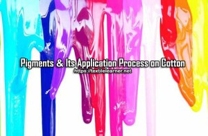 application of pigments