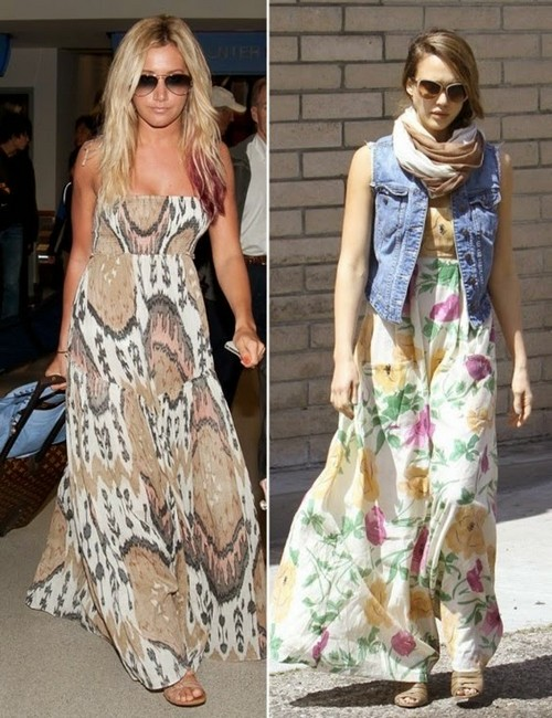 Maxi Dress Fashion Trend