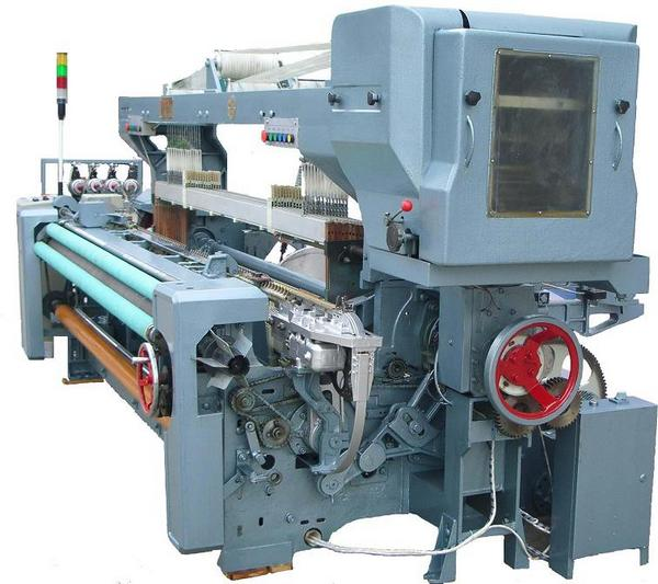 Rapier Loom With Pick Finder And Electronic Weft Selector