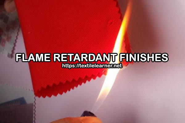 flame retardant finishes