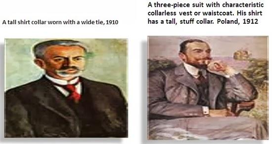 Mens shirt 1910-1912